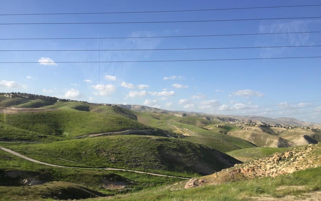Jordan River valley, Samaria & Jerusalem entry